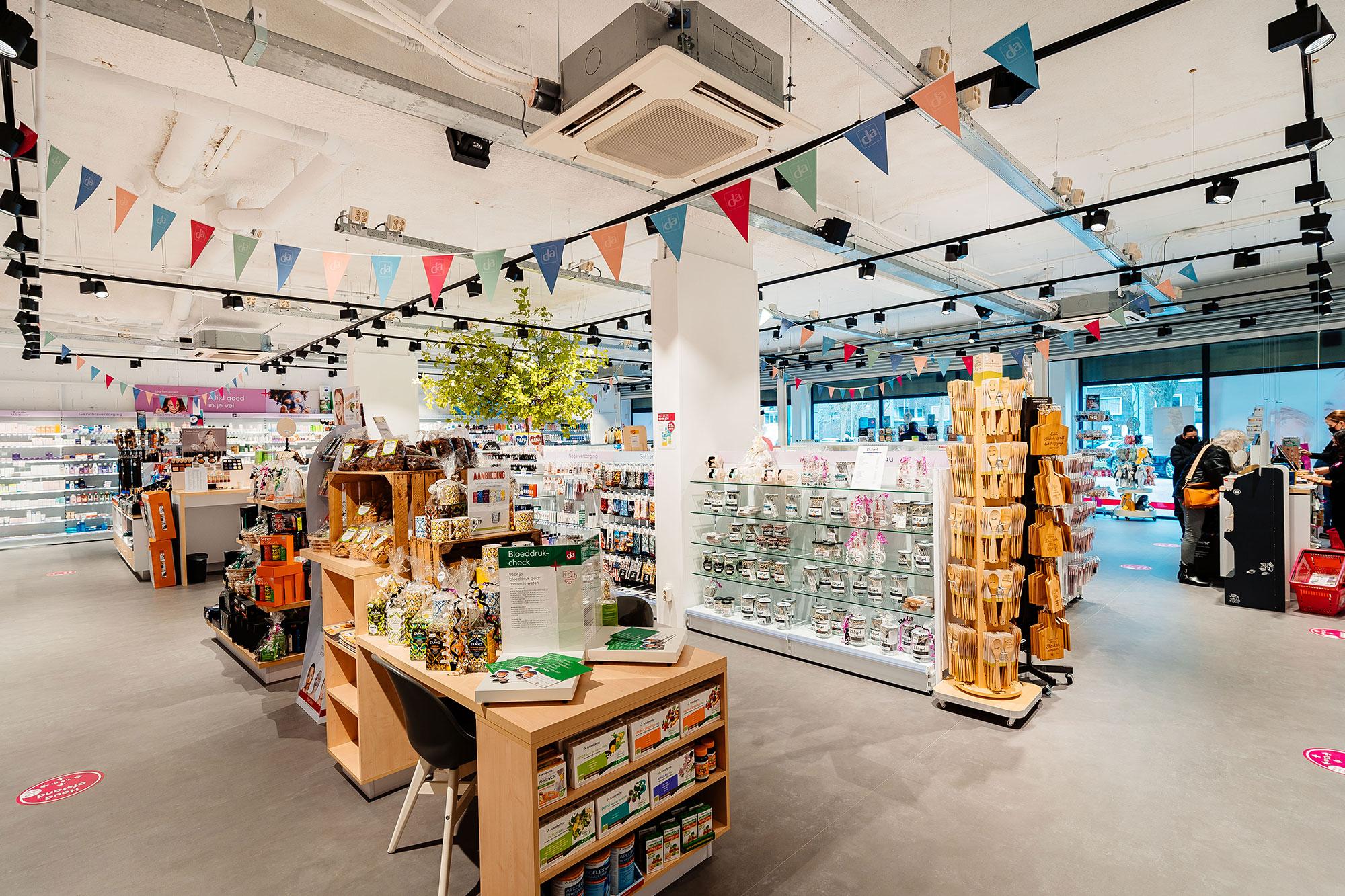 Verbouw winkel Groningen